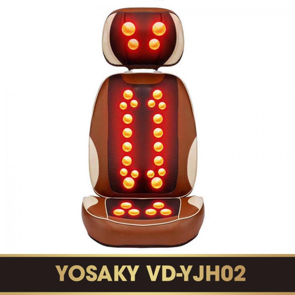 Đệm massage hồng ngoại cao cấp YOSAKY VD-YJH02