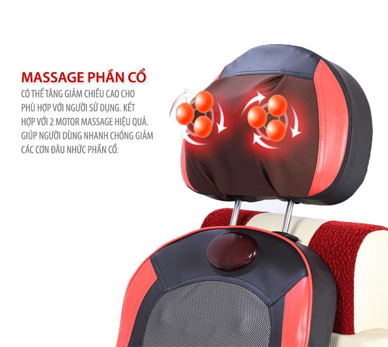 Đệm massage Kimura Onaga (Japan)