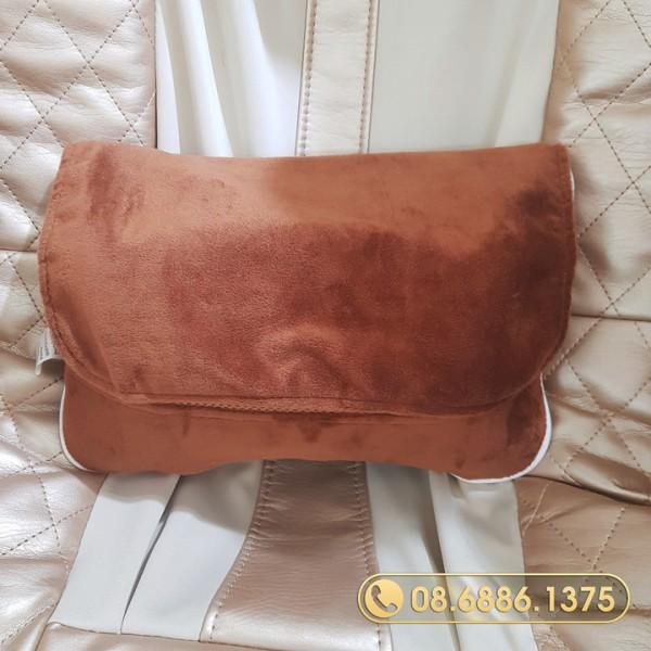 Gối massage hồng ngoại OKAZAKI OK-168 (Japan)