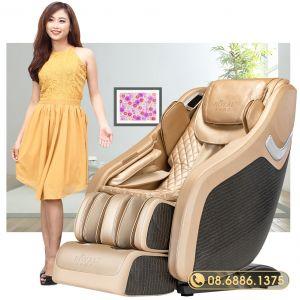 Ghế massage toàn thân Royal R666 (Gold)