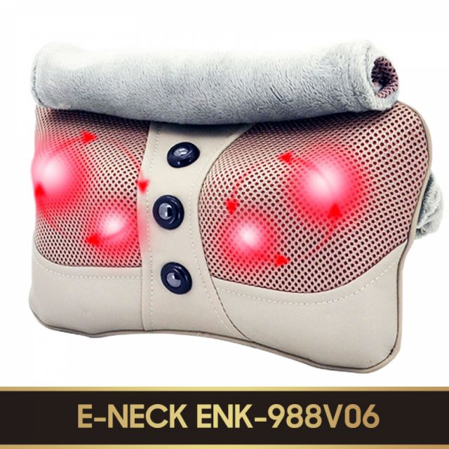 Gối massage hồng ngoại E-Neck (ENK-988V06)